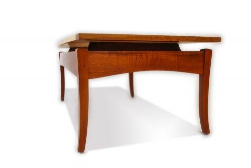 Marcus studio coffee table w floating top work for Floating bench plans