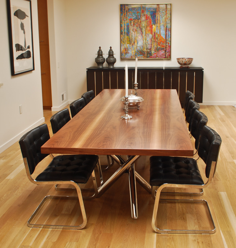 Marcus Studio | B and A's Walnut Dining Table